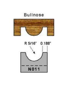 5/16 radius bullnose
