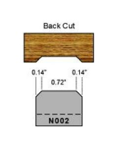 N002 back cut