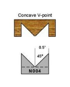 N004 Concave V-point Magic Molder Plug