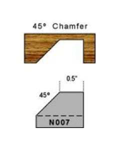 45 degree chamfer magic molder plug