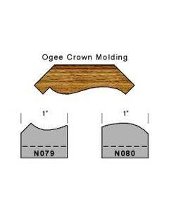 Ogee crown molding set