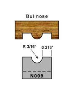 3/8 bullnose profile