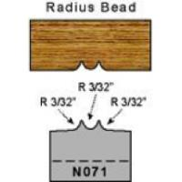 Radius Bead Plugs