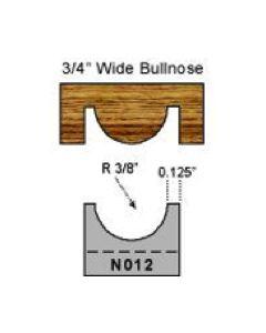 3/8 inch radius bull nose