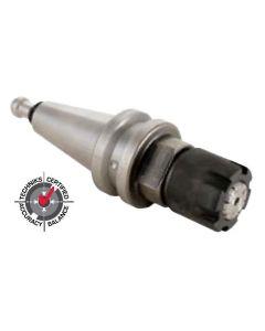 Techniks 12194-ISO25 ISO 25 x ER25 - 50mm, slotted nut & pull stud