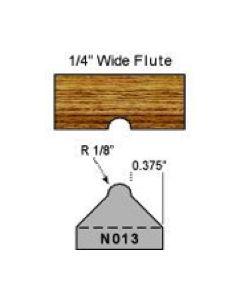 1/8 radius shaper cutter