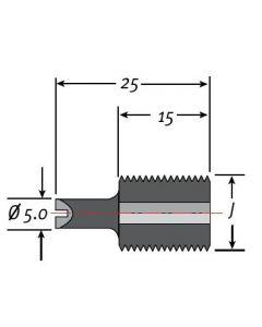 Techniks 16087 M 12 x 1.75 P - 25 (extended)