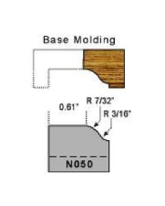 Base molding profile