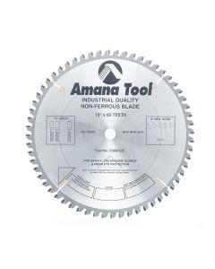 "Amana 510601 10""/60T NON FERROUS TCG GRIND"