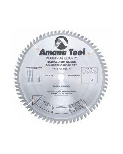 """Amana 610720 10""""/72T """"0"""" HOOK SPECIALTY ATB"""