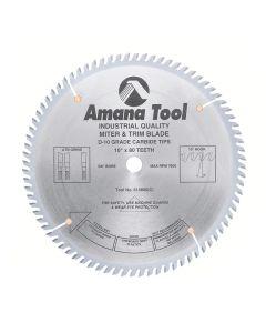 """Amana 610800 10""""/80T TRIM SAW A.T.B. GRIND"""