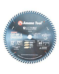 "Amana 612720C 12""/72T CROSS-CUT A.T.B. GRIND"