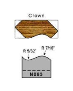 Corwn molding profile