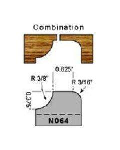 Combination cove profile