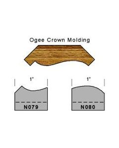 Ogee crown molding set