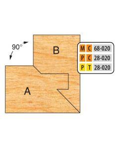 FREEBORN - PC-28-020 - CARBIDE LOCK MITER SET Shaper Cutter