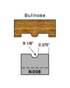 bullnose profile