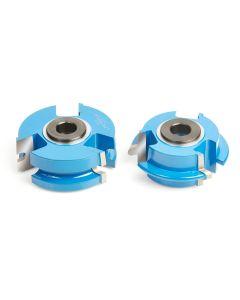 Amana Tool 55360 Carbide Tipped Divided Light Door 2-1//8 Dia x 1 x 3//16 Radius x 1