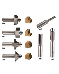 Whiteside Machine Basic 7 Pc Bit Set