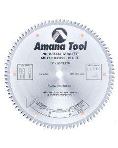"Amana CTC12903-5/8 12""/90T DOUBLEMITER C-TCG 5/8B"