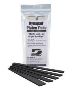 "Dynabrade 11129 3/4"" (3 mm) W x 7"" (178 mm) L Hard Platen Pad 5-Pkg."
