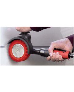 Dynabrade 18258 Autobrade Red DynaZip Eraser Wheel Tool (Replaces 13320)