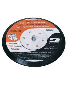"Dynabrade 50606 6"" (152 mm) Dia. Non-Vacuum Disc Pad, Hook-Face, Long Nap"