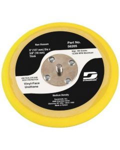 "Dynabrade 56206 6"" (152 mm) Dia. Non-Vacuum Disc Pad, Vinyl-Face"