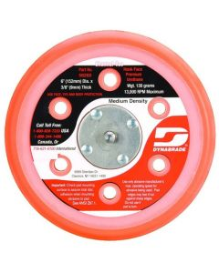 "Dynabrade 56253 5"" (127 mm) Dia. Vacuum Disc Pad, Hook-Face, Short Nap"