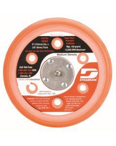 "Dynabrade 56260 6"" (152 mm) Dia. Vacuum Disc Pad, Hook-Face, Short Nap"