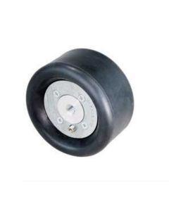 """Dynabrade 92937 5"""" (127 mm) Dia. x 3-1/2"""" (89 mm) W Standard Dynacushion Pneumatic Wheel"""