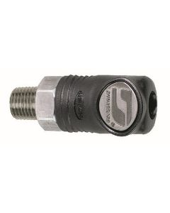 "Dynabrade 94980 1/4"" Composite-Style Coupler, 1/4"" Male"