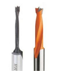 """Vortex Tool 3/16 x 70 RH BRAD POINT DRILL 3/16"""" x 70mm RH Brad Point Drill"""