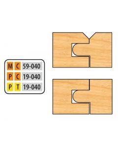 Freeborn Mini-pro Carbide 8-PC. Flooring / V-Panel Set
