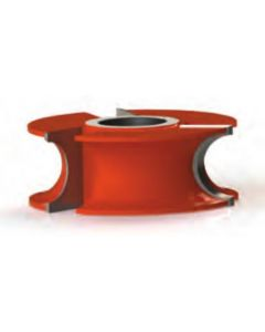 Freeborn Mini-pro Carbide Half Round Concave Shaper Cutters