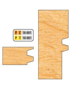 Freeborn Pro-line T-alloy Reversible Glue Joint