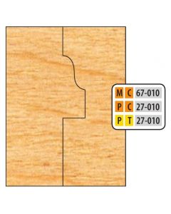 Freeborn Pro-line T-alloy Window Sash Cutter Set (4 Piece Cutter Set)