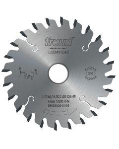 Freud LI25M28EA3 120 mm Conical Scoring