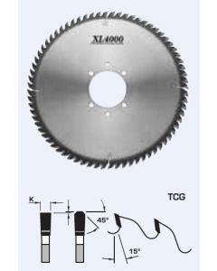 Fs Tool Xl4000 Panel Sizing Saw Blades TCG L52