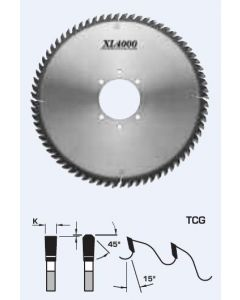 Fs Tool Xl4000 Panel Sizing Saw Blades TCG L52 #2