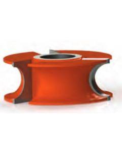 Freeborn Pro-line T-alloy Half Round Concave Shaper Cutters