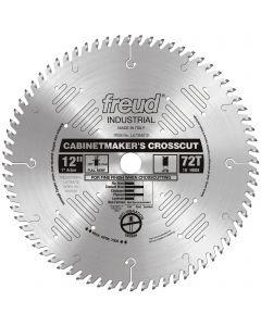 "FREUD - LU73M012   12""  CABINET MAKER'S CROSSCUT BLADE"