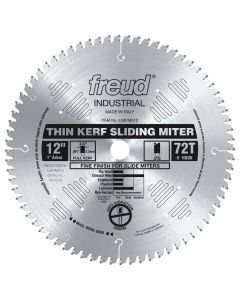 FREUD - LU91M012  THIN KERF SLIDING COMPOUND MITER SAW BLADE