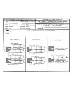 FREEBORN - MC-50-040 - CARBIDE COPE & PATTERN CUTTER SET Shaper Cutter