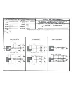 FREEBORN - MC-50-060 - CARBIDE COPE & PATTERN CUTTER SET Shaper Cutter