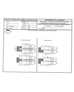 FREEBORN - MC-50-500 - CARBIDE FLAT PANEL COPE & PATTERN CUTTER SET Shaper Cutter