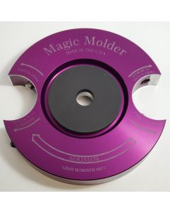 Convex V-point Magic Molder Universal shaper cutter plug