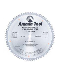 """Amana MS12800-5/8 12""""/80T MITER BOX 4&1 5/8 BORE"""