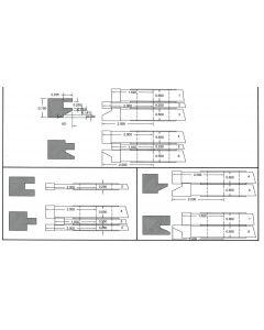 FREEBORN - PC-10-050 - CARBIDE COPE & PATTERN SET Shaper Cutter