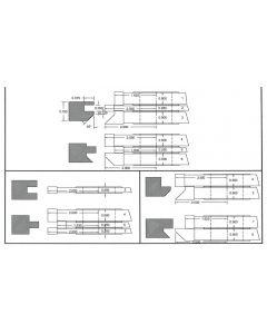 FREEBORN - PC-10-055 - CARBIDE COPE & PATTERN SET Shaper Cutter